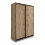 Шкафы-купе 2-х дверные в стиле лофт в Екатеринбурге