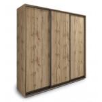 Шкафы-купе 3-х дверные в стиле лофт в Екатеринбурге