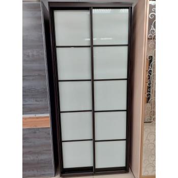 2-х дверный шкаф №1 / Венге (выставочный образец)