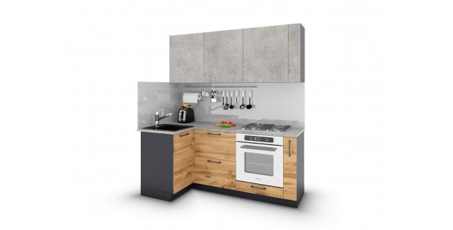 Модульные кухни в стиле лофт