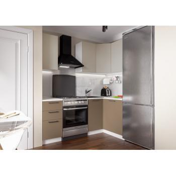Кухня Акцент-Мокко угловая 1400*1200 мм