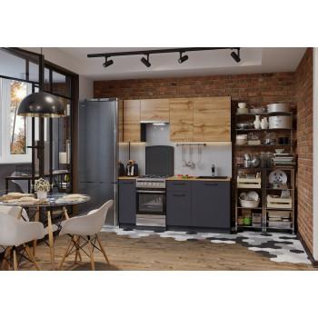 Кухня Акцент-Лофт-2 прямая 1900 мм